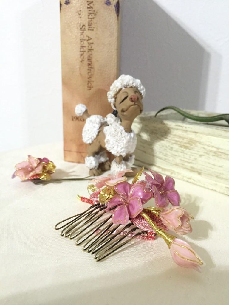 桜の髪飾り花みやび
